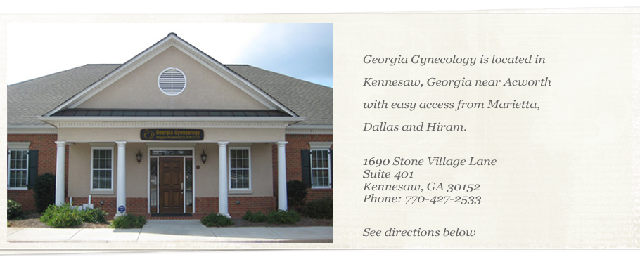 Georgia Gynecology is located in Kennesaw Georgia and is Dr. Mojgan Khatami's practice