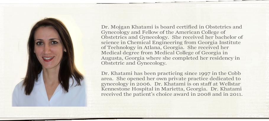 Dr. Mojgan Khatami/Georgia Gynecology